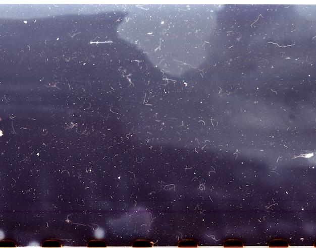 Close up de negativo de fotografia