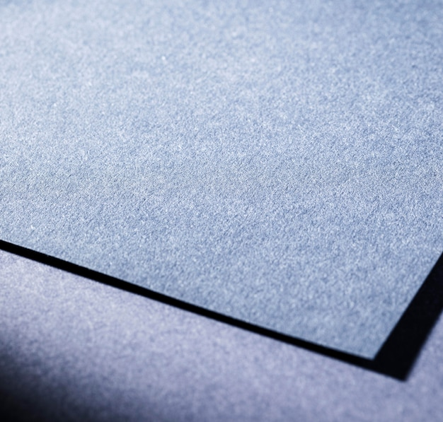 Close-up de papel texturizado azul