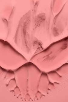 Close-up de pintura acrílica de arte abstrata