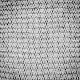 Close-up de tecido cinza e textura com copyspace