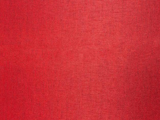 Close up de tecido de seda vermelho