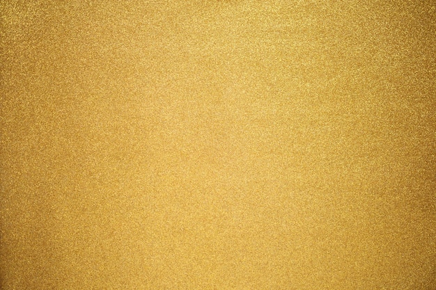 Close up de textura de glitter dourado