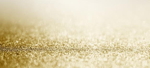 Close up de textura de glitter dourado