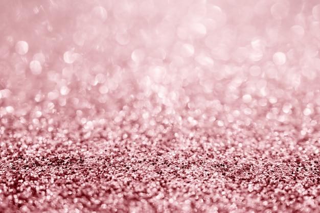 Close up de textura de glitter rosa