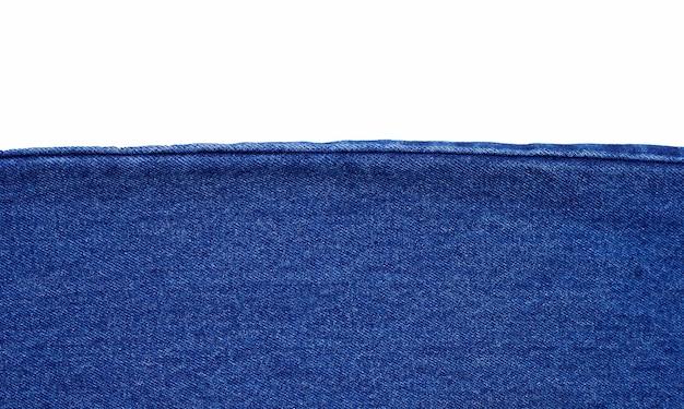 Close up de textura de jeans azul