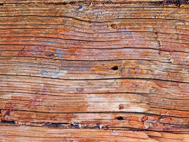 Close up de textura de madeira ao ar livre