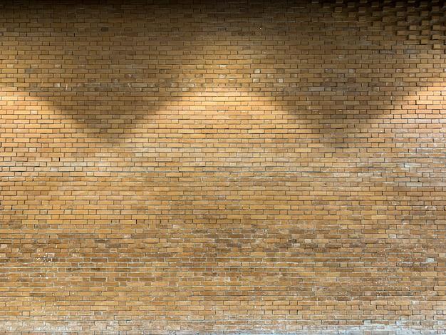 Close-up de tijolo rústico marrom