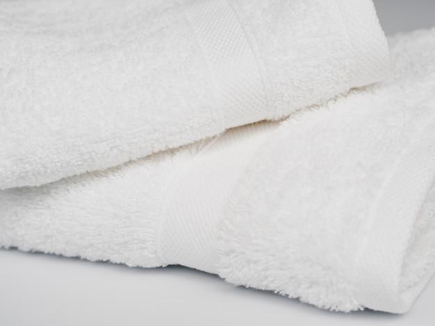 Close up de toalhas