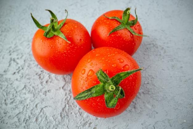 Close up de tomates