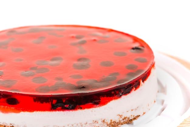 Close-up, de, um, bolo doce geléia