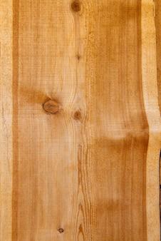 Close up de uma prancha de madeira