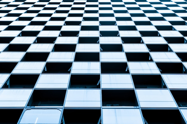 Close-up, de, vidro, janelas, de, arranha-céus