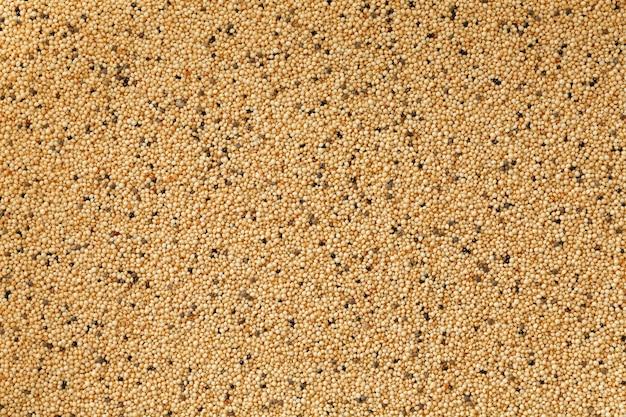 Close up do arroz integral do jasmim.