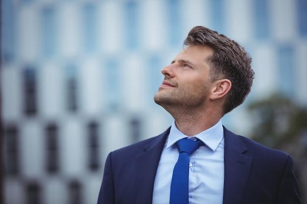 Close-up do empresário