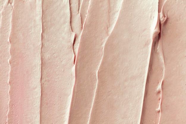 Close-up do fundo com textura de glacê de lichia