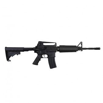 Close-up do rifle