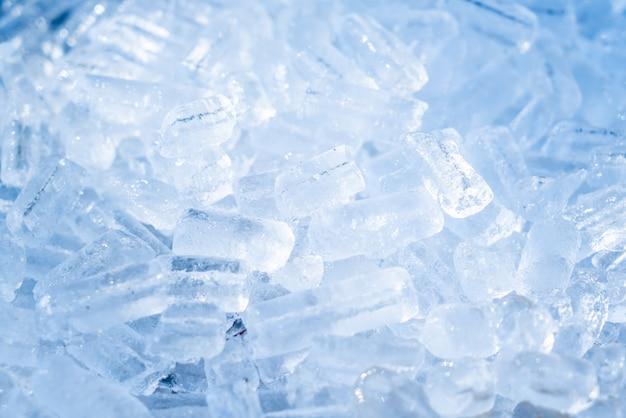Close-up do tubo de gelo