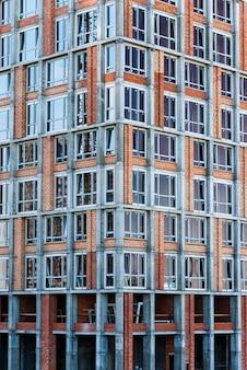 Close-up edifício em construção