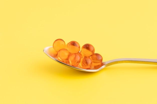 Close-up em complementos alimentares