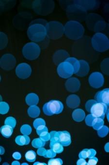 Close-up em fibra ótica - profundidade de campo
