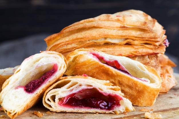 Close-up em pães de farinha