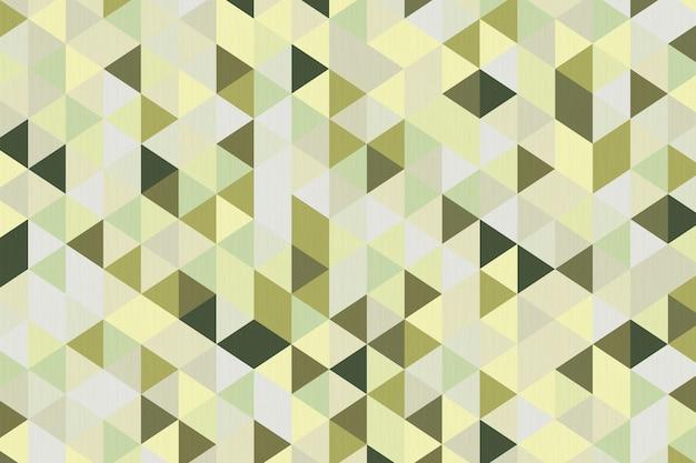 Close up extremo abstrato do fundo geométrico do polígono verde oliva. renderização 3d.