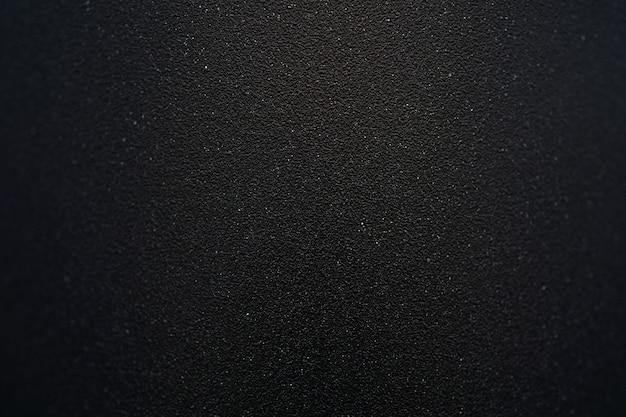 Close up full frame shot preto fosco textura metálica de fundo