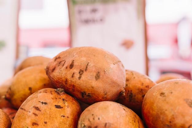 Close-up, inteiro, orgânica, fruta