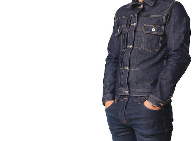 Close-up jeans jaqueta jeans