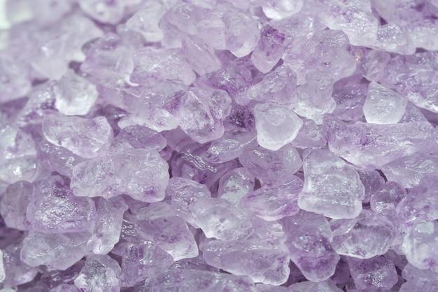 Close-up lavanda spa de sal