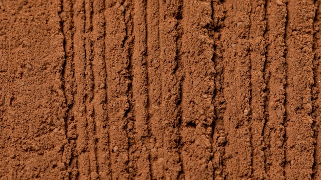 Close up mistura de textura de panela de barro