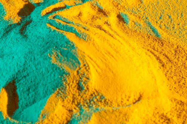 Close-up monte de areia