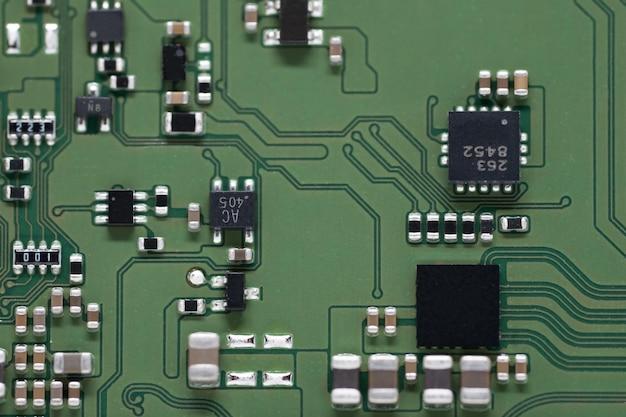 Close-up, processador, eletrônico, circuito, tábua