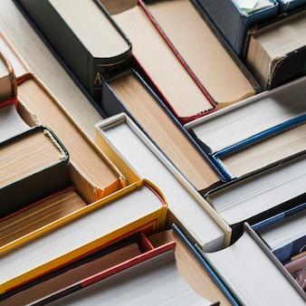 Close-up, sortido, livros