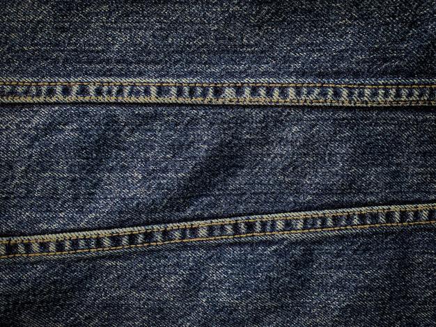 Close-up textura padrão de jeans azul