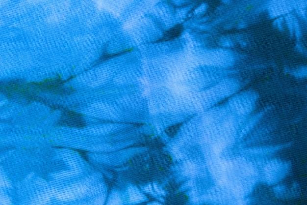 Close up tie dye tecido pattern feito à mão textura