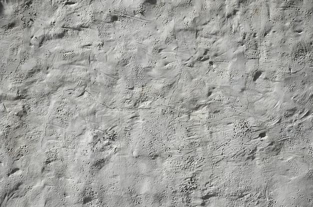 Close-up tiro da parede de barro marrom grunge em uma casa velha