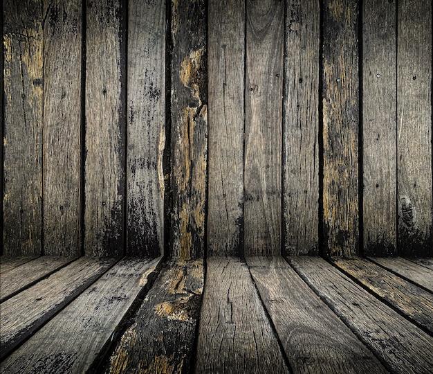 Close-up velha textura de madeira rústica grunge