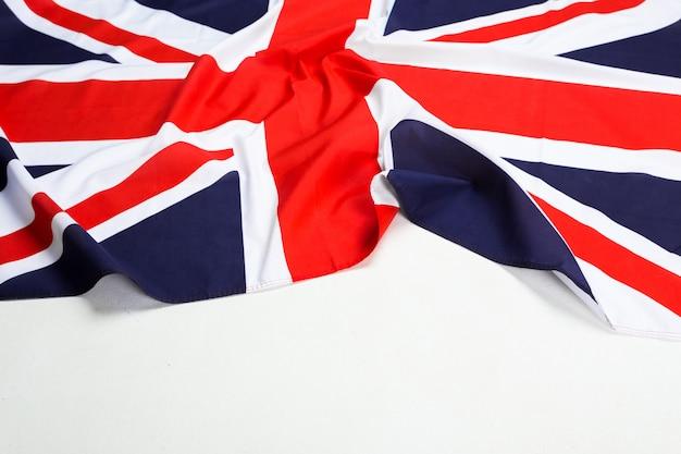 Closeup da bandeira da union jack