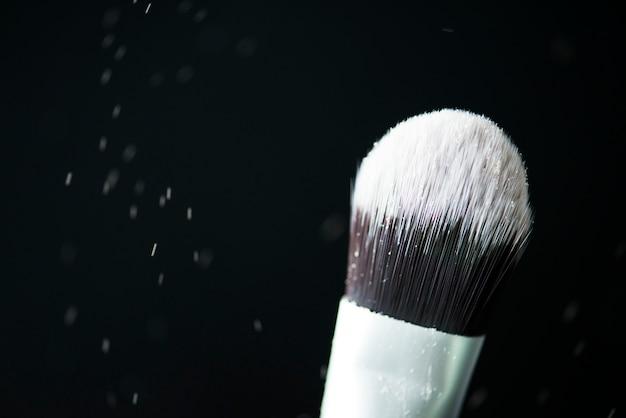 Closeup de blush cosmético