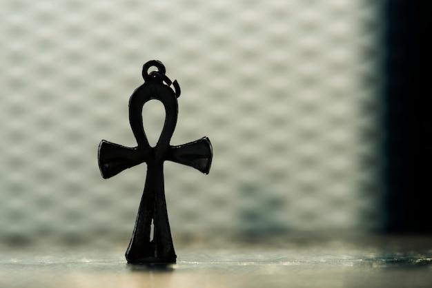 Closeup, de, crucifixos
