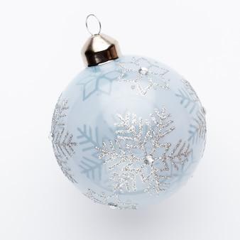 Closeup de decoração de natal em um fundo branco. isolado - imagem