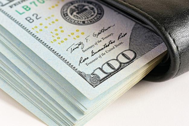 Closeup de dinheiro