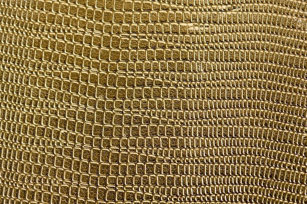 Closeup, de, dourado, scaly, textured, padrão, fundo