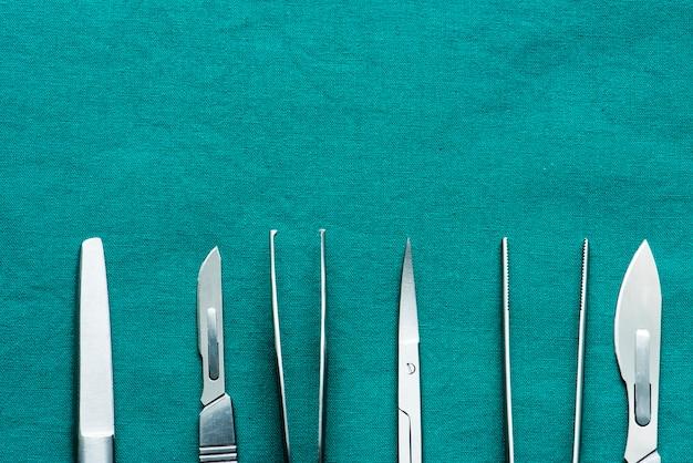 Closeup, de, equipamento médico