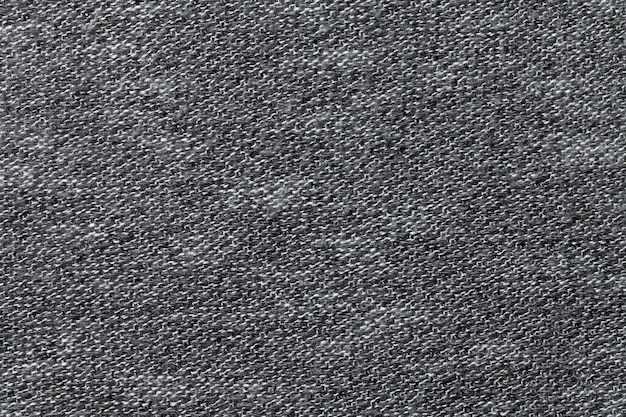 Closeup de fundo cinza têxtil