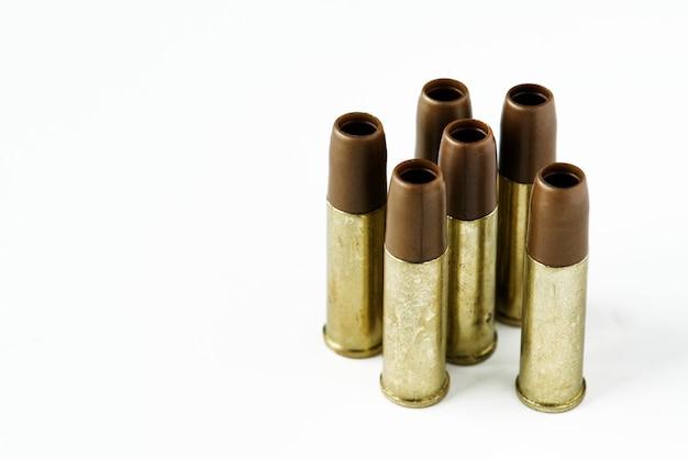 Closeup, de, munição