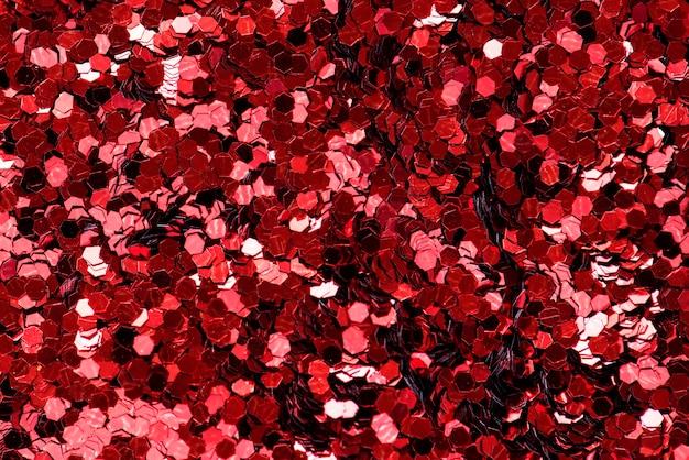 Closeup de octógono vermelho em forma de papéis decorativos closeup