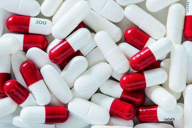 Closeup, de, pílulas