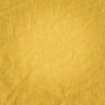 Closeup de tecido de cor mostarda